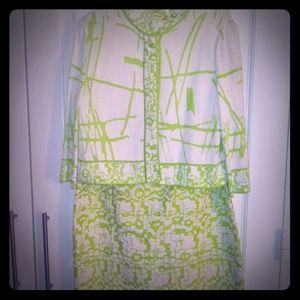 St. John's Dress and Jacket